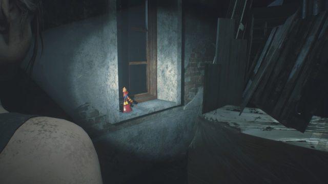 Mr.ラクーン隠し場所3階時計台裏